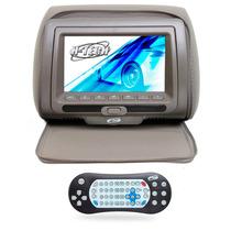 Encosto De Cabeça Leitor Dvd Sony Tela 7 Pol Cinza Com Ziper