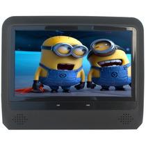 Encosto De Cabeça Dvd Com Monitor Acoplável De 7 Polegadas
