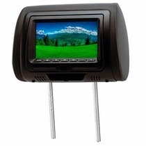 Encosto De Cabeça Com Leitor Dvd H Tech Com Jogos Monitor 7