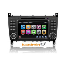 Central Multimidia Mercedes C180 04 A 07 Dvd/gps/tv