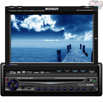 Dvd Player Booster 9750 Tela 7 Retrátil Touch Tv Bluetooth