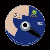 Disco Dvd-h12 5661 Músicas P/ Videokê Vmp300-d (salvador-ba)