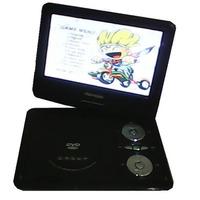 Dvd Player Portátil Tela 9.8 Tv Video Game Fm