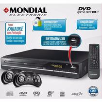 Dvd Player Mondial Game Star Ii D-14
