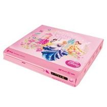 Dvd Player Compact Princesas Menina Rosa Dvt-c110 Tectoy