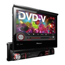 Dvd Pioneer Automotivo Retrátil 7 Pol Avh 3580dvd Nacional