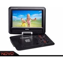 Dvd Napoli Portátil Npl-pdvd1289 3d 12 Preto Usb Sd Tv
