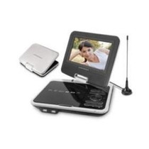 Dvd Portatil Tela 7 Powerpack 7328 Tv Usb Sb Card Jogosm,