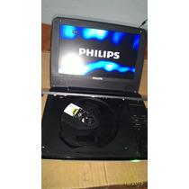 Dvd Player Portátil Philips Model Pd9000/37 Defeito No Leito