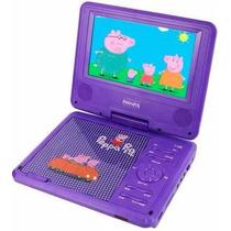 Dvd Portatil Peppa Pig 7165 Infantil