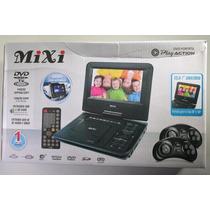 Dvd Portátil 7 Mixi Game Suporte Banco Usb Sd 3d -completão