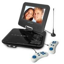 Dvd Portatil Powerpack 7328 Jogos Usb + Sd + Card + Tv
