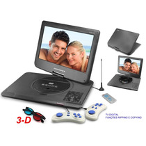 Dvd Portatil Powerpack 1563 Tv Digital + Games Tela 15,6¨