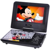 Dvd Portátil Infantil 7 Lcd Com Tv Mickey Funcao Jogos
