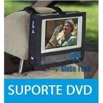 Dvd Portatil Tv 9 Tela Gira 270º Multimidia Suporte Encosto