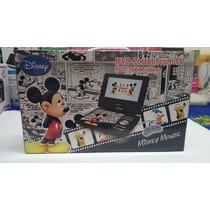 Dvd Portátil Disney Pdt-7145 - 7 Polegadas - Mickey - Preto