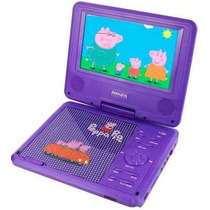 Dvd Portatil Infantil Disney Peppa Pig