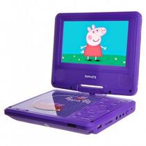 Dvd Portatil Peppa Pig 7165 Infantil Com Bolsa Para Carro