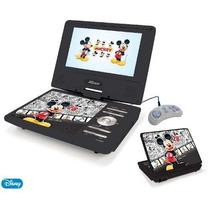 Dvd Portátil Mickey 7 Lcd Com Tv Com Bolsa De Suporte Games