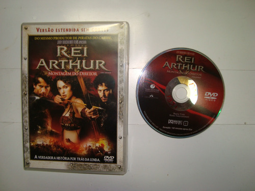 Dvd - Rei Arthur - Montagem Do Diretor