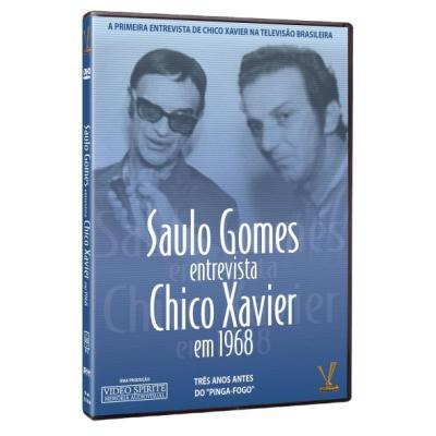 Dvd Saulo Gomes Entrevista - Chico Xavier Em 1968