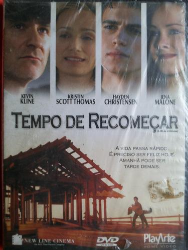 Dvd Tempo De Recomeçar