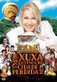 Dvd - Xuxa E O Tesouro Da Cidade Perdida (lacrado)
