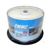 Mídia Virgem Cmmc Printable 100 Dvd+r Dl 8.5 8x - Umedisc