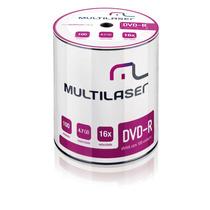 Midia Dvd-r Vel. 16x - 100 Un. Shrink - Dv037 - Multilaser