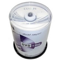 10 Dvd+r Dl Elgin (umedisc) 8.5gb 8x C/logo - No Envelope!