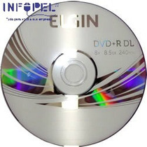 Dvd+r 8.5 Gb Dual Layer C/10 Elgin #8829