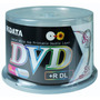 50 Dvd+r Ridata ( Id: Ritek ) Dual Layer 8.5gb Printable