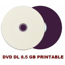 50 Dvd+r Dl Dual Layer 8.5 Gb Printable - Id: Umedisc - Xbox