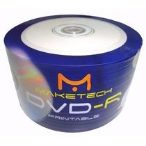 Dvd R Midia Virgem Printable 8.5gb 8x Frete Gratis 50unid