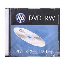 Kit 10 Disco Hp Dvd -rw Virgem Regravável