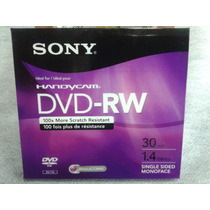 Mini Dvd+rw Regravável - Sony