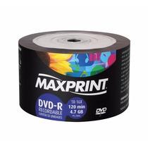 Dvd-r 16x Maxprint 4.7 Gb Virgem