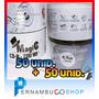 Kit 50 Cd + 50 Dvd Virgem C/logo Lacrado - Várias Marcas