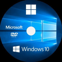 Dvd Cd Wind©ws 10 Home / Pro 64bits + Ativador + Cd Extra!