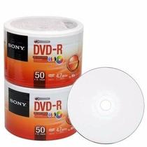 100 Dvd-r Sony 16x Printable. Original !