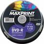 Mini Dvd-r Maxprint 1.4gb 30min Para Filmadora