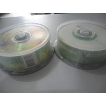 25 Midia Dvd-r Virgem 8x Várias Marcas 4.7gb 120min