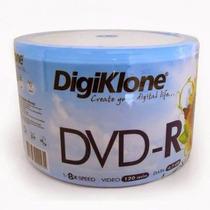 Dvd-r Virgem 50 Mídias Tubo Lacrado Digiklone Envio Imediato