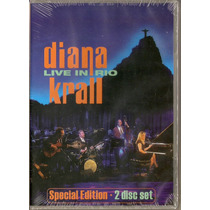 Dvd Duplo Diana Krall - Live In Rio( Special Edition )- Novo