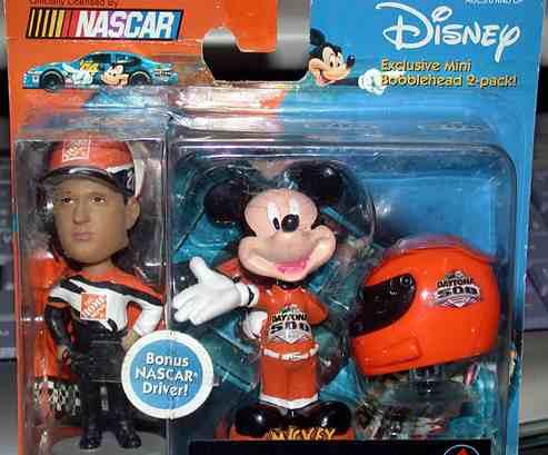 Dysney Nascar Daytona 500 Tony Stewart + Mickey (lacrado)