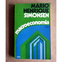 Macroeconomia - Mario Henrique Simonsen