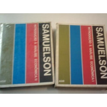 Introdução Á Análise Econômica - Samuelson Em 2 Vol.