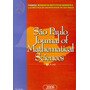 São Paulo: Journal Of Mathematical Sciences Vol 3 - N.2