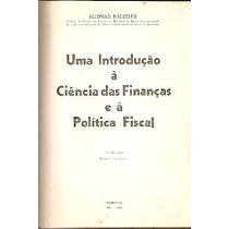 Uma Introdução À Ciência Das Finanças E Á Política Fiscal