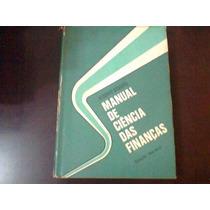 Manual De Ciência Das Finanças. Alberto Deodato.